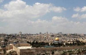 Jerusalem skyline small