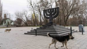 Researchers find dozens of Jewish headstones at Babi Yar