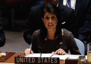 Haley to UN Security Council: Don't turn a blind eye to Iran