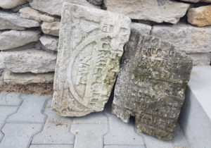 House in Kielce, Poland, found to be built of Jewish gravestones