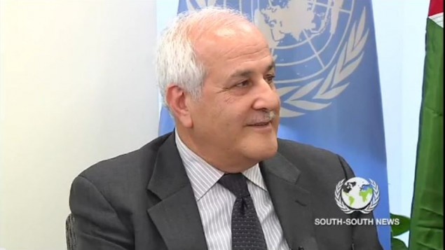 'State' of Palestine casts its first UN ballot