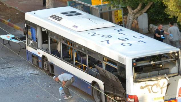 Disaster averted as bomb explodes on bus after passengers evacuated