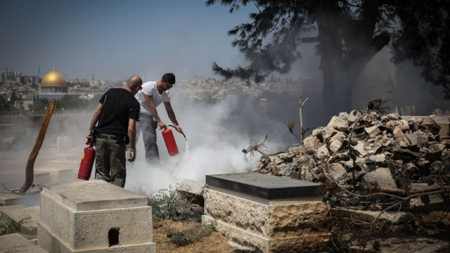 Jewish holy sites in Israel desecrated more than Christian, Muslim ones