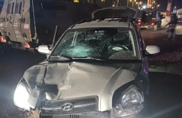 Border Police officer seriously wounded in ramming attack north of Jerusalem